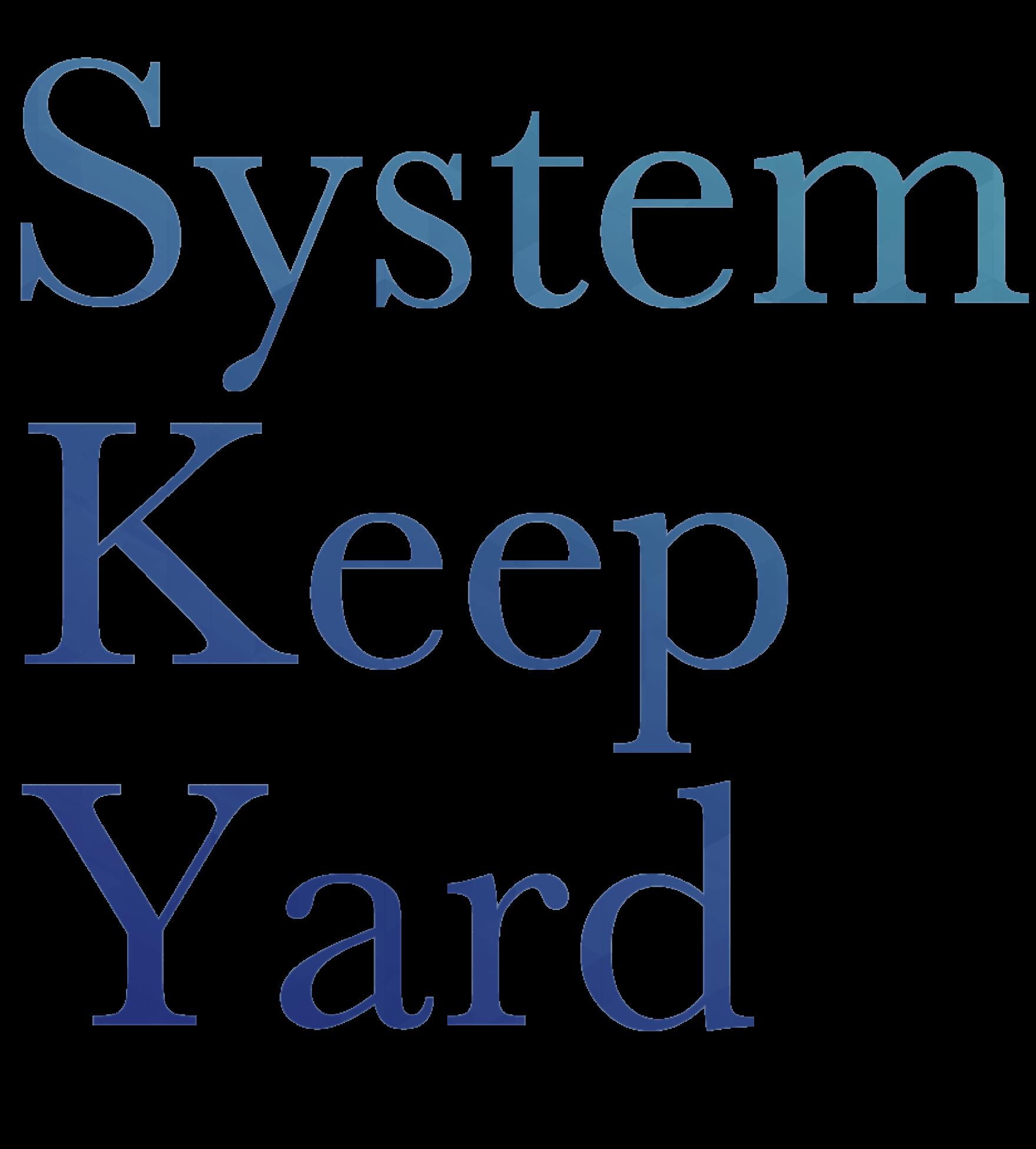 System Keep Yardロゴ